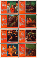 """Movie Posters:Science Fiction, The War of the Worlds (Paramount, 1953). Lobby Card Set of 8 (11"""" X14"""").. ... (Total: 8 Items)"""