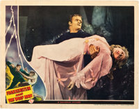 "Frankenstein Meets the Wolf Man (Universal, 1943). Lobby Card (11"" X 14"")"