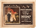 """Movie Posters:Fantasy, Dante's Inferno (Jawitz Pictures Corp., 1921). Title Lobby Card (11"""" X 14"""").. ..."""