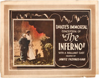 """Dante's Inferno (Jawitz Pictures Corp., 1921). Title Lobby Card (11"""" X 14"""")"""