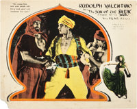 """The Son of the Sheik (United Artists, 1926). Lobby Cards (2) (11"""" X 14""""). ... (Total: 2 Items)"""