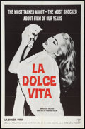 "Movie Posters:Drama, La Dolce Vita (Astor, 1961). One Sheet (27"" X 41""). Drama.. ..."