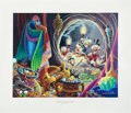 Original Comic Art:Miscellaneous, Carl Barks Dangerous Discovery Regular Edition Lithograph#PP20 (Another Rainbow, 1993).. ...