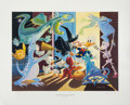 Original Comic Art:Miscellaneous, Carl Barks Halloween in Duckburg Regular Edition Lithograph#PP16 (Another Rainbow, 1992).... (Total: 3 Items)