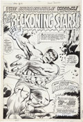 Original Comic Art:Splash Pages, Marie Severin and Herb Trimpe Tales to Astonish #94 HulkSplash Page 1 Original Art (Marvel, 1967)....