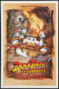 "Movie Posters:Animated, Duck Tales: The Movie - Treasure of the Lost Lamp (Buena Vista,1990). One Sheet (27"" X 41"") DS. Animated.. ..."