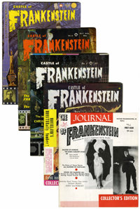 Castle of Frankenstein/The Journal of Frankenstein Group (Acme/Gothic Castle Printing, 1959-63).... (Total: 5 Comic Book...
