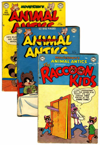 Movietown's Animal Antics Group (DC, 1950-54) Condition: Average GD/VG.... (Total: 22 Comic Books)