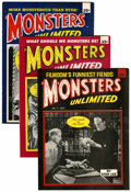 Magazines:Science-Fiction, Monsters to Laugh With/Monsters Unlimited Group (Marvel,1964-66).... (Total: 8 Comic Books)