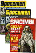 Magazines:Science-Fiction, Spacemen #2-8 Group (Warren, 1961-64) .... (Total: 7 Comic Books)