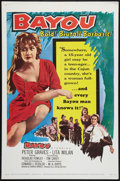"Movie Posters:Drama, Bayou (United Artists, 1957). One Sheet (27"" X 41""). Drama.. ..."