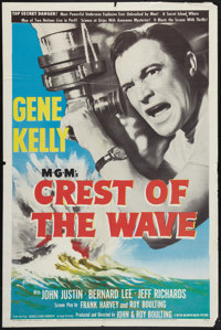 "Crest of the Wave (MGM, 1954). One Sheet (27"" X 41""). Drama"