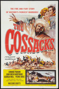 """Movie Posters:Action, The Cossacks (Universal International, 1960). One Sheet (27"""" X 41""""). Action.. ..."""