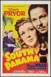 """South of Panama (PRC, 1941). One Sheet (27"""" X 41""""). Thriller"""