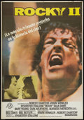 "Movie Posters:Sports, Rocky II (United Artists, 1979). Spanish One Sheet (27.5"" X 39""). Sports.. ..."