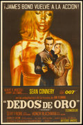 "Movie Posters:James Bond, Goldfinger (United Artists, 1964). Argentinean Poster (28.25"" X 42.5""). James Bond.. ..."
