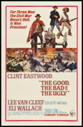 "Movie Posters:Western, The Good, the Bad and the Ugly (United Artists, 1968). One Sheet (27"" X 41""). Western.. ..."