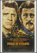 """Movie Posters:Western, Gunfight at the O.K. Corral (CIC, R-1974). Spanish One Sheet (27.5"""" X 39.5""""). Western.. ..."""