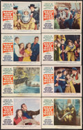 """Movie Posters:Adventure, Reap the Wild Wind (Paramount, R-1954). Lobby Card Set of 8 (11"""" X14""""). Adventure.. ... (Total: 8 Items)"""