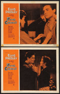 "Movie Posters:Elvis Presley, King Creole (Paramount, 1958). Lobby Cards (2) (11"" X 14""). ElvisPresley.. ... (Total: 2 Items)"