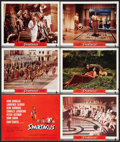 "Movie Posters:Adventure, Spartacus (Universal International, 1960 and R-1967). Title LobbyCard and Lobby Cards (11) (11"" X 14"") Regular and Roadshow...(Total: 12 Items)"