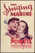 """Movie Posters:Musical, The Singing Marine (Warner Brothers, 1937). One Sheet (27"""" X 41""""). Musical.. ..."""