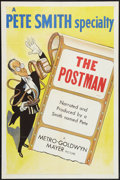 "Movie Posters:Short Subject, A Pete Smith Specialty (MGM, 1953). One Sheet (27"" X 41"") ""ThePostman."" Short Subject.. ..."
