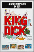 "Movie Posters:Adult, King Dick (Monitor Inc., 1983). One Sheet (27"" X 41""). Adult.. ..."