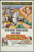 "Movie Posters:Adventure, Zarak (Columbia, 1956). One Sheet (27"" X 41""). Adventure.. ..."