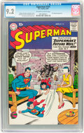 Silver Age (1956-1969):Superhero, Superman #131 (DC, 1959) CGC NM- 9.2 Off-white to white pages....