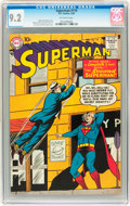 Silver Age (1956-1969):Superhero, Superman #119 (DC, 1958) CGC NM- 9.2 Off-white pages....