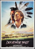 """Movie Posters:Western, Dances With Wolves (Constantin Films, 1990). German A0 (33"""" X 47"""").Western.. ..."""