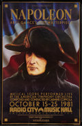 "Movie Posters:War, Napoleon (Zoetrope, R-1981). One Sheet (24.75"" X 38""). War.. ..."
