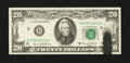 Error Notes:Ink Smears, Fr. 2070-H $20 1969C Federal Reserve Note. Choice CrispUncirculated.. ...