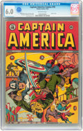 Golden Age (1938-1955):Superhero, Captain America Comics #18 (Timely, 1942) CGC FN 6.0 Off-white pages....