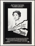 "Movie Posters:Cult Classic, Mommie Dearest (Paramount, 1981). Poster (30"" X 40""). CultClassic.. ..."