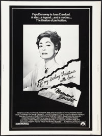 """Mommie Dearest (Paramount, 1981). Poster (30"""" X 40""""). Cult Classic"""
