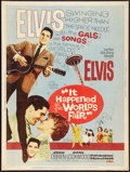 """Movie Posters:Elvis Presley, It Happened at the World's Fair (MGM, 1963). Poster (30"""" X 40"""").Elvis Presley.. ..."""