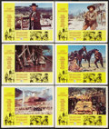 """Movie Posters:Western, The Good, the Bad and the Ugly (United Artists, 1968). Lobby Cards (6) (11"""" X 14""""). Western.. ... (Total: 6 Items)"""
