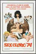 """Movie Posters:Adult, Sex Clinic '74 Lot (Brian Distributing Corporation, 1974). One Sheets (2) (27"""" X 41""""). Adult.. ... (Total: 2 Items)"""