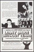"Movie Posters:Documentary, Lenny Bruce Without Tears (Fred Baker Films, 1972). One Sheet (27"" X 41"") Flat Folded. Documentary.. ..."