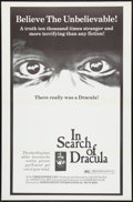 "Movie Posters:Documentary, In Search of Dracula (Independent-International, 1975). One Sheet (27"" X 41"") Flat Folded. Documentary.. ..."