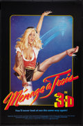 """Movie Posters:Adult, Menage a Trois (Platinum Pictures, 1984). One Sheet (27"""" X 41"""") 3-D Style. Adult.. ..."""