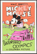 "Movie Posters:Animated, Barnyard Olympics (Circle Fine Arts, 1980s). Fine Art Serigraph(21"" X 30.5""). Animated.. ..."