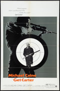 "Movie Posters:Crime, Get Carter (MGM, 1971). One Sheet (27"" X 41""). Crime.. ..."