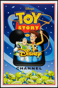 """Toy Story Lot (Buena Vista, 1995). TV Station Poster (27"""" X 40"""") & One Sheet (27"""" X 40). Animated..."""