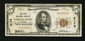 National Bank Notes:Colorado, Colorado Springs, CO - $5 1929 Ty. 1 The First NB Ch. # 2179. ...