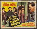 "Movie Posters:Drama, Lady in the Death House (PRC, 1944). Half Sheet (22"" X 28"").Drama.. ..."
