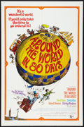 """Movie Posters:Adventure, Around the World in 80 Days (United Artists, R-1968). One Sheet(27"""" X 41""""). Adventure.. ..."""