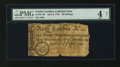 Colonial Notes:North Carolina, North Carolina April 4, 1748 40s PMG Good 4 Net.. ...
